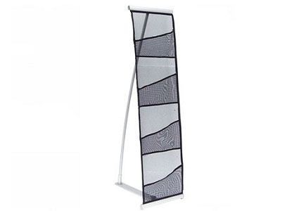 4 Pocket Mesh Literature Stands
