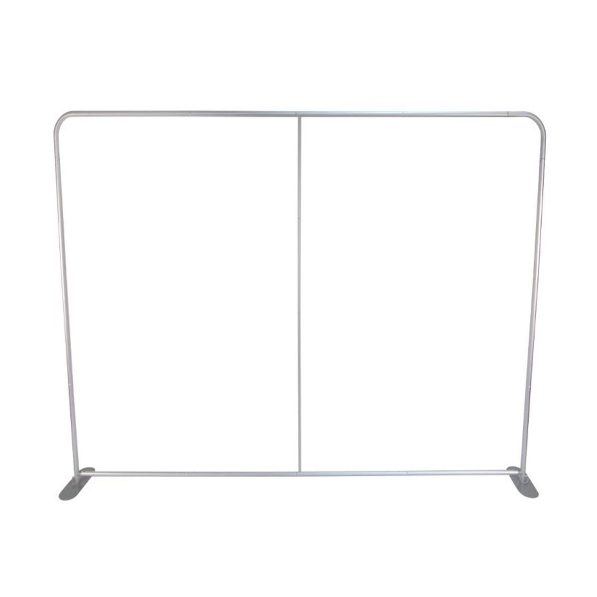 10 Foot Premium Tension Fabric Display with Footed Arch - Frame
