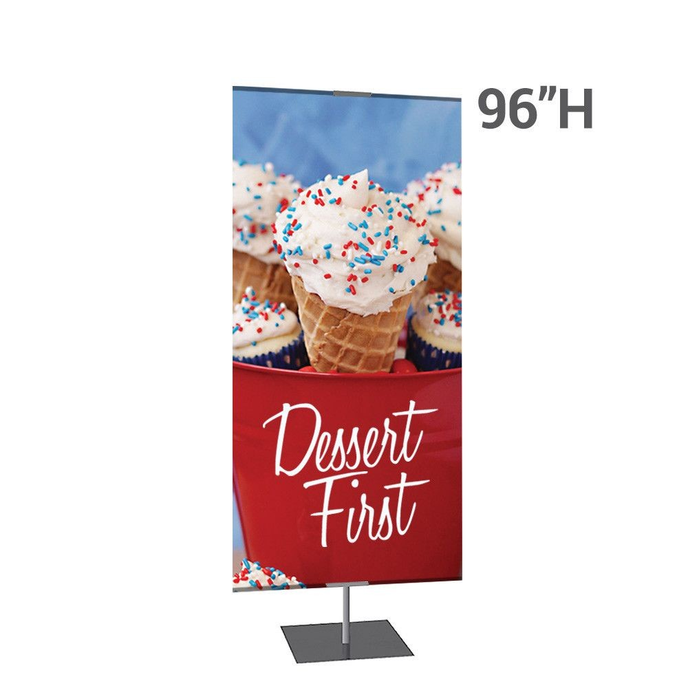 Different Height Options for Retail Banner Stands
