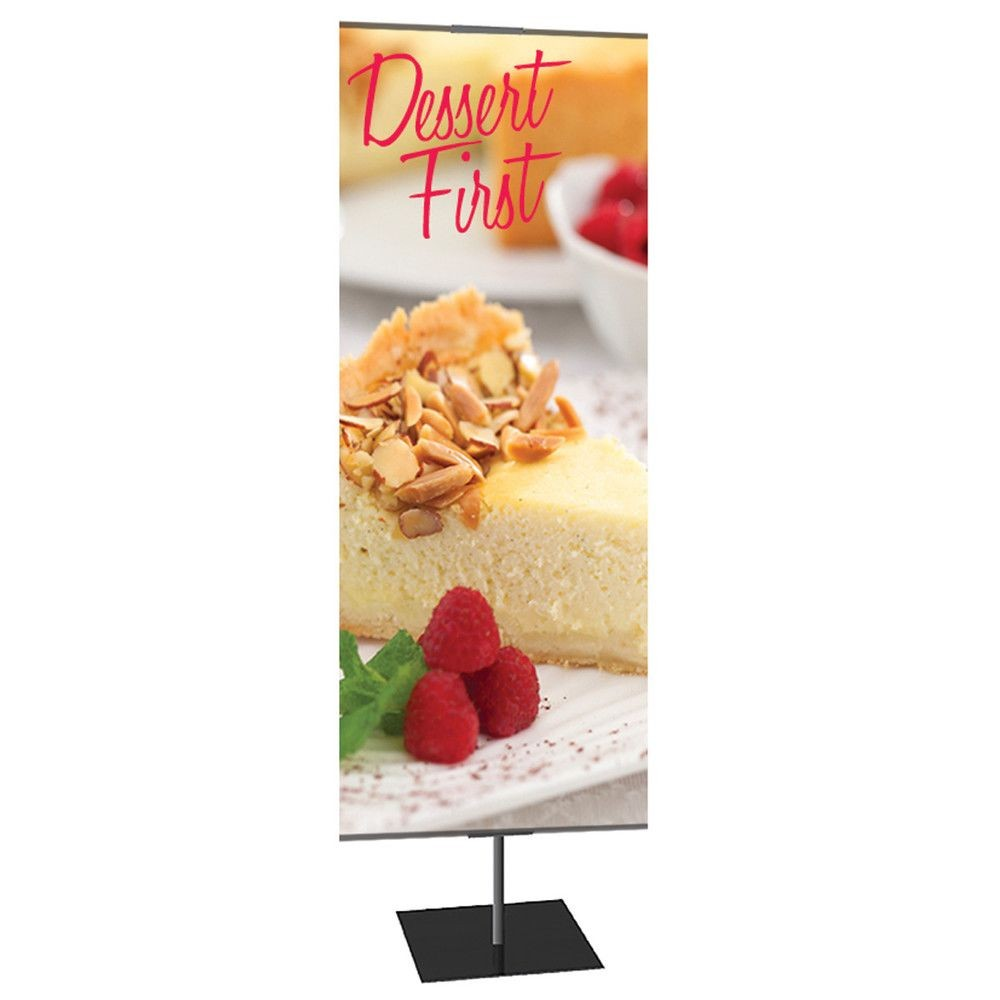 Single Sided Retail Banner Stands