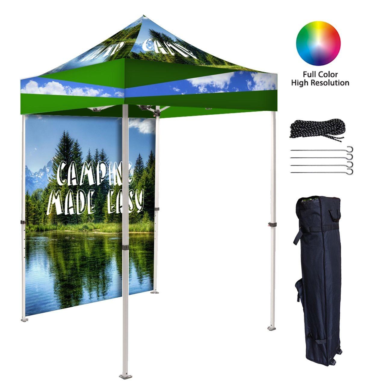 Custom 6x6ft Canopy Tents Custom 10 6x6ft Pop Up Tents