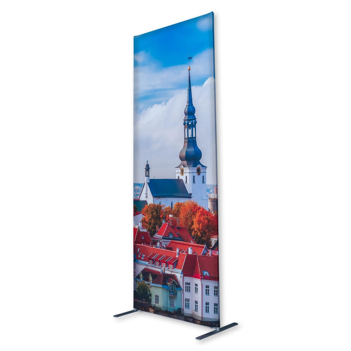 Economy Fabric Banner Stands Profile