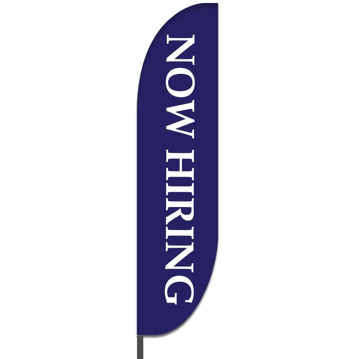 Now Hiring Feather Flags Design 01