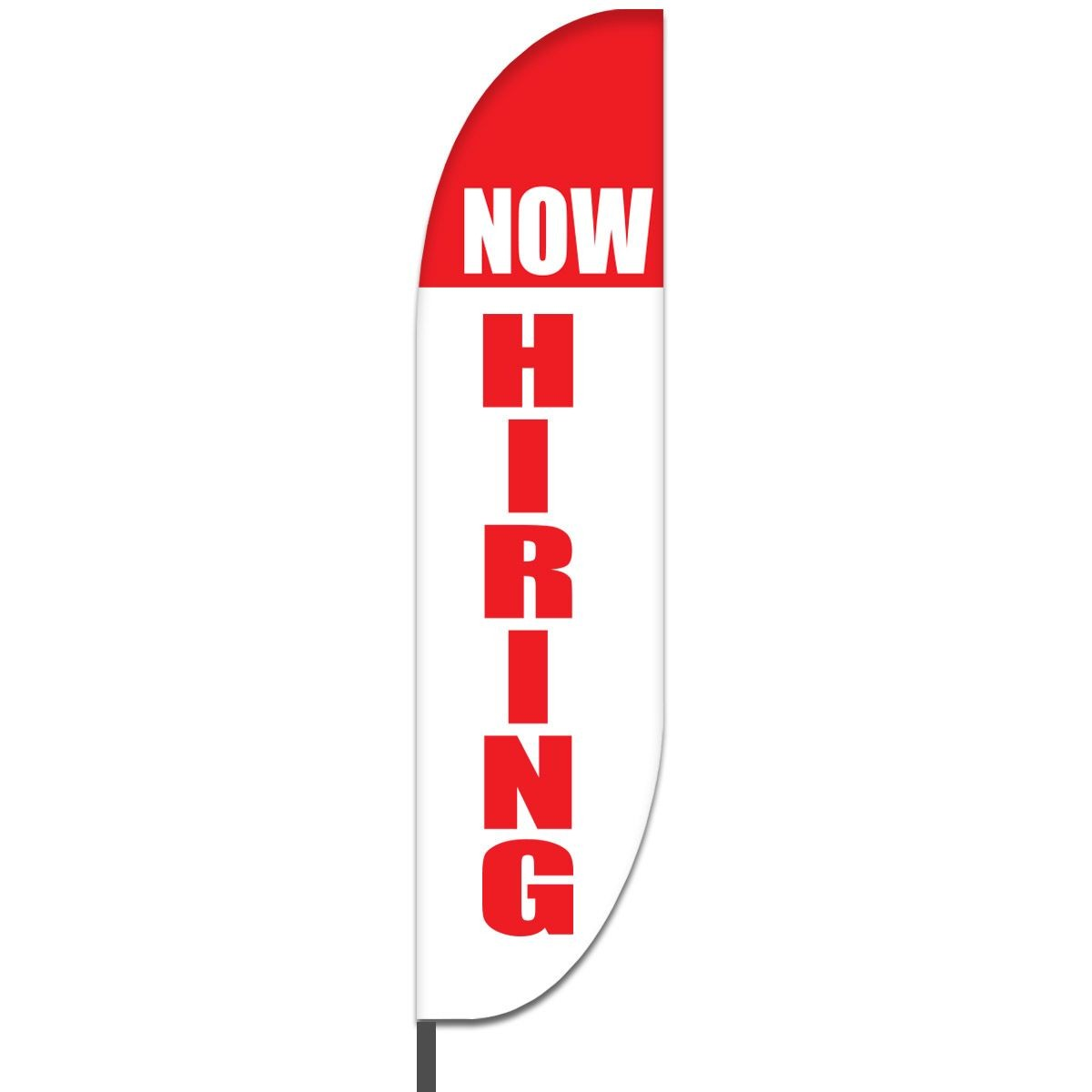 Now Hiring Feather Flags Design 03