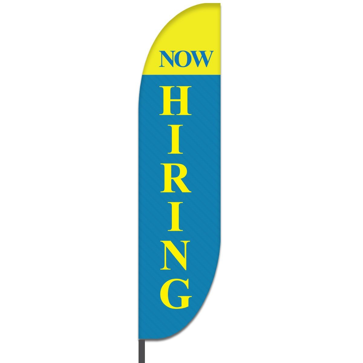 Now Hiring Feather Flags Design 04