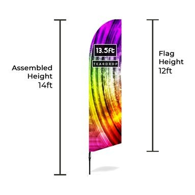 Large Bowhead Banners Size Chart