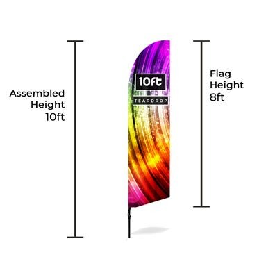 Medium Large Bowhead Banners Size Chart