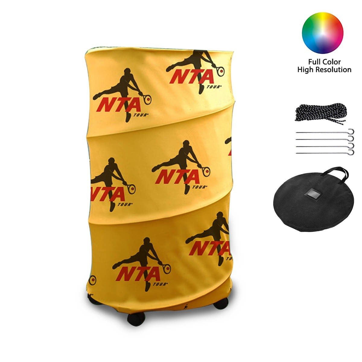 Vertical Pop Up Drum Banners