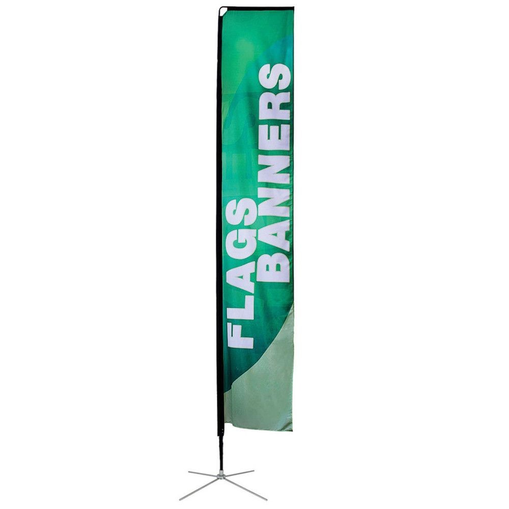 Custom Rectangular Flags Size Chart for All Sizes
