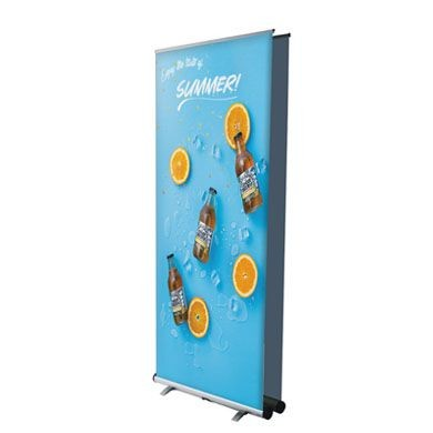 Graphic Interchangeable Flex Double Sided Retractable Banner Stands
