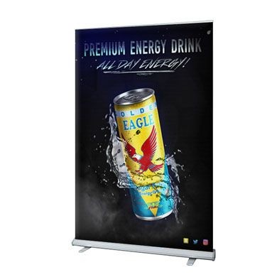 48 Inches Wide Retractable Banner Stands
