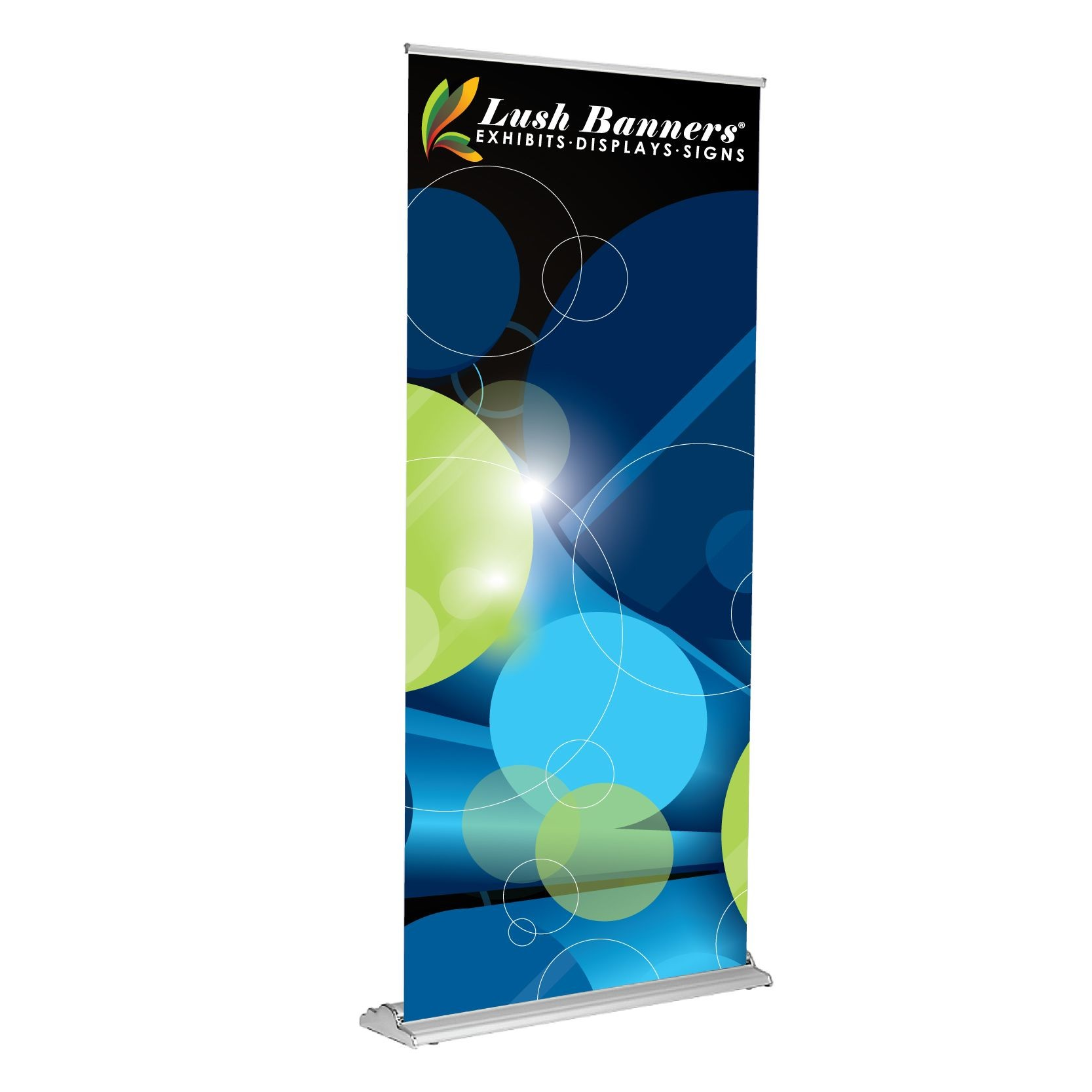 36 Inches Wide Silverstep Retractable Banner Stands
