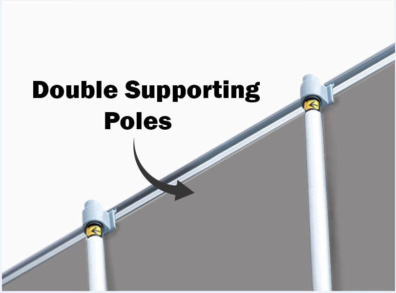 Close Up of Supporting Pole