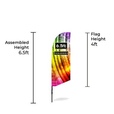 Small Bowhead Banners Size Chart