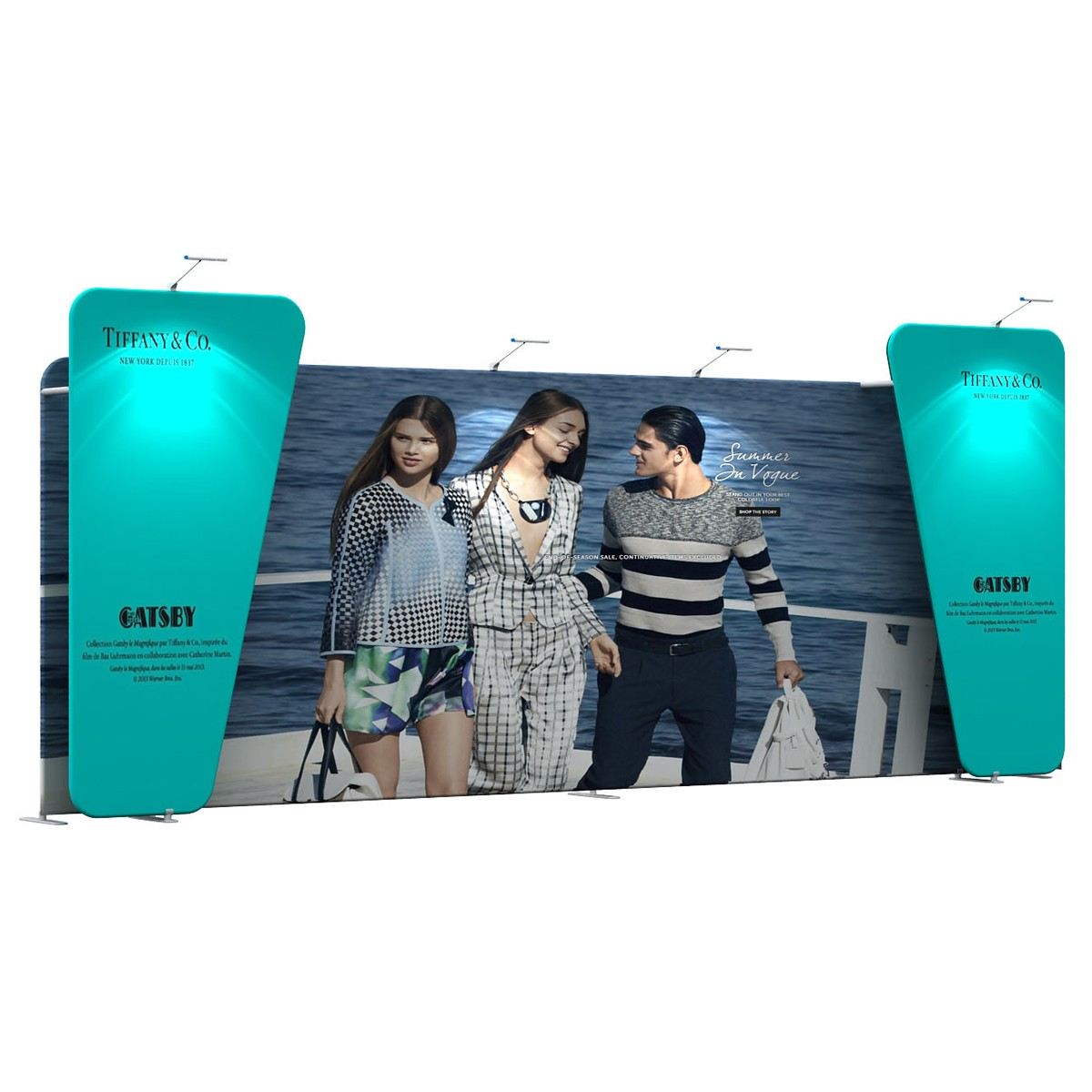 Tension Fabric Display Add-on Panel (Straight)