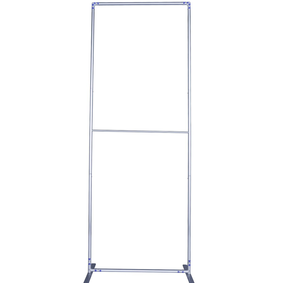 Hardware Frame for Economy Fabric Banner Stands - Profile View