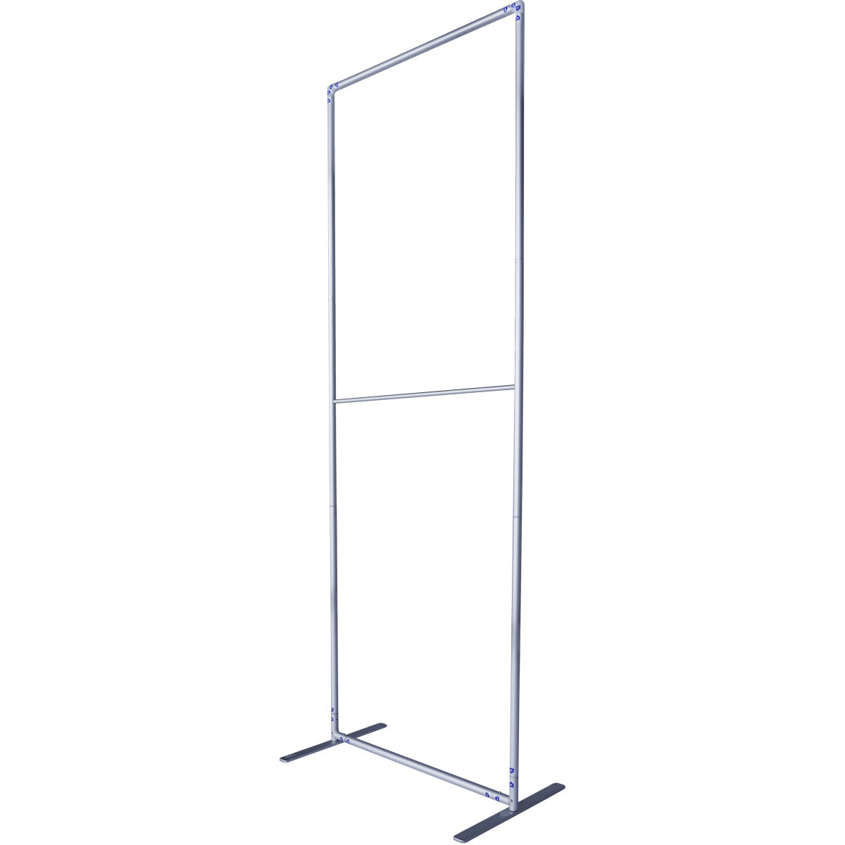Hardware Frame for Economy Fabric Banner Stands - Tilted View
