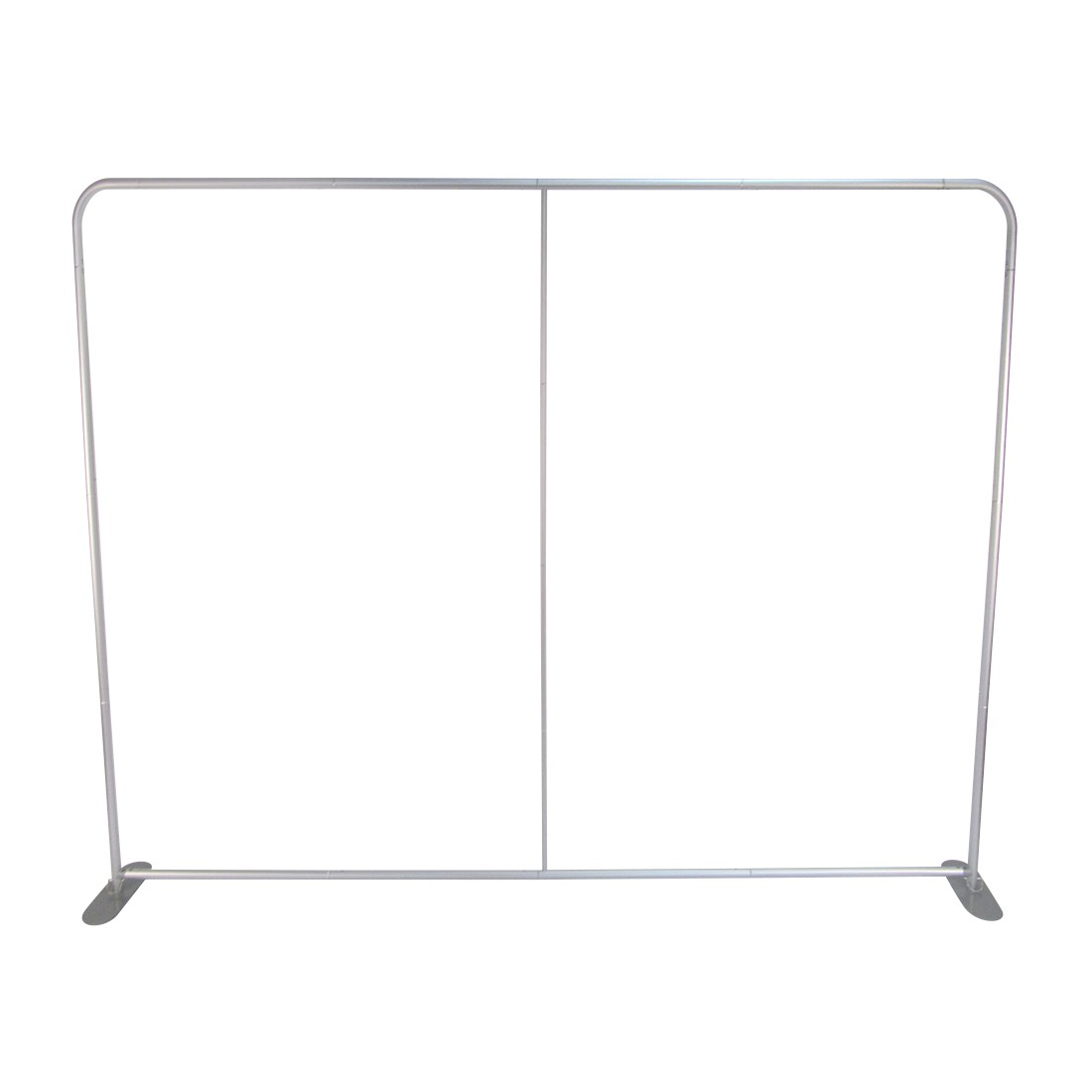 8ft Premium Tension Fabric Display (Footed Straight) - Frame
