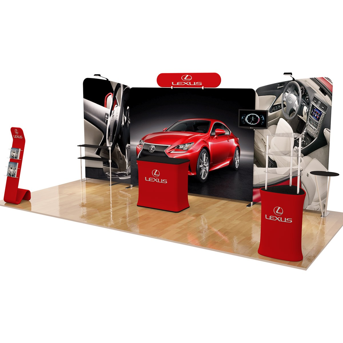 10 x 10ft Trade Show Booth (Design B)