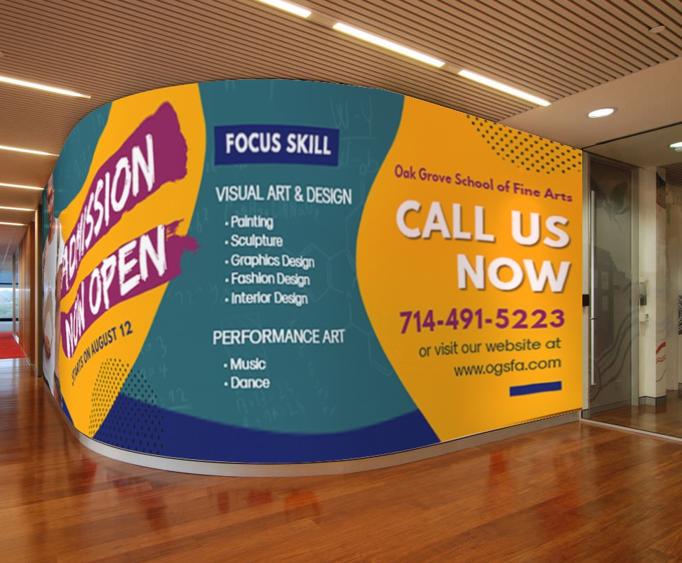 Custom Wall Graphics - Any Size
