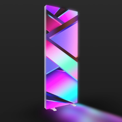 Modular Backlit Banner Stands
