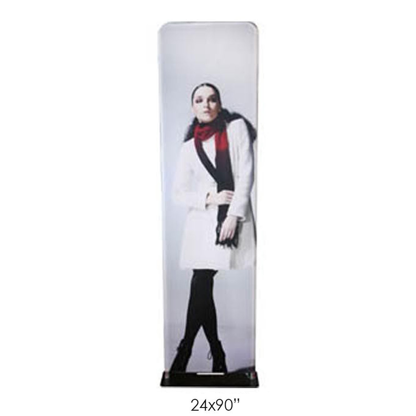 Fabric Banner Stands (Double-Sided) 24x90""