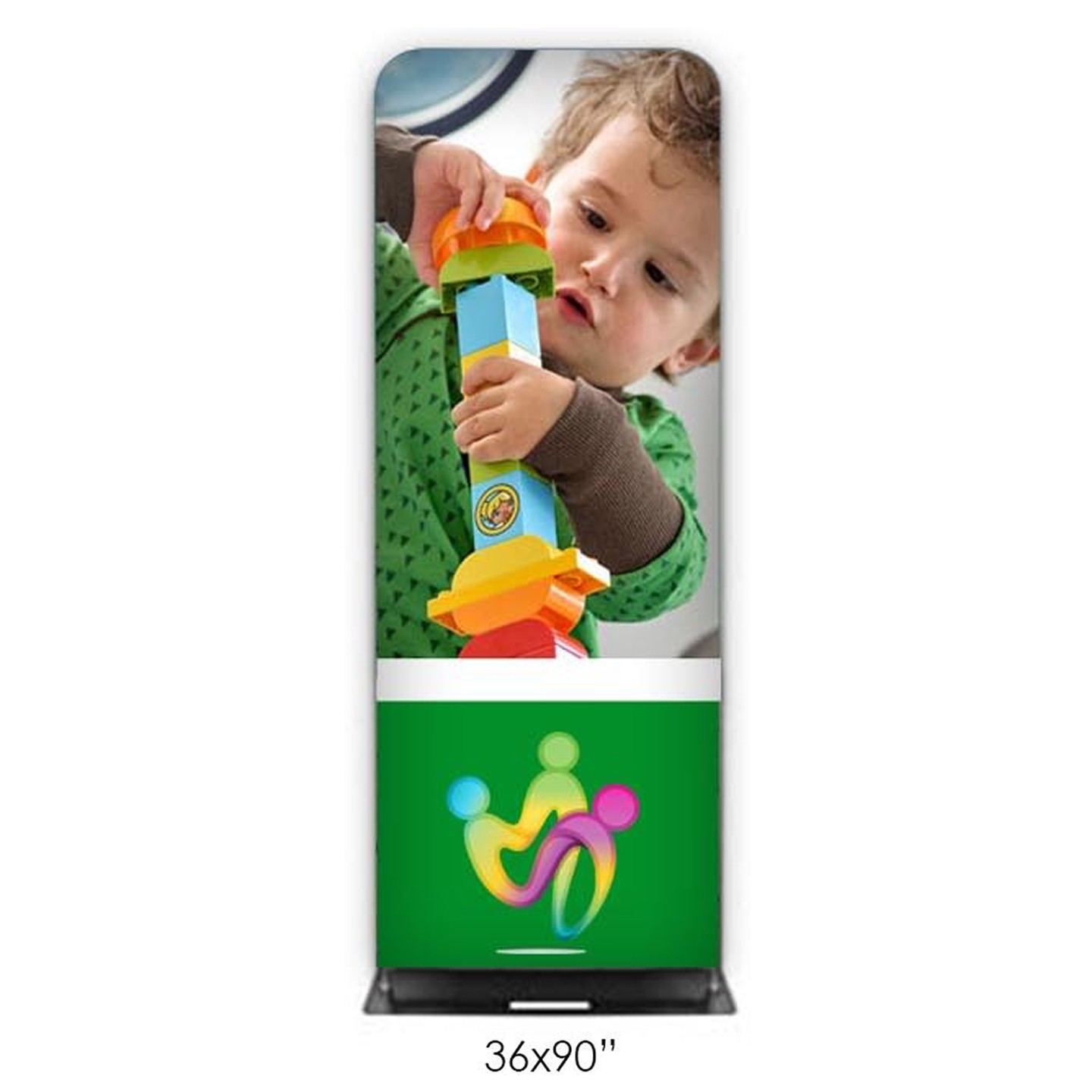 Fabric Banner Stands (Double-Sided) 36x90""
