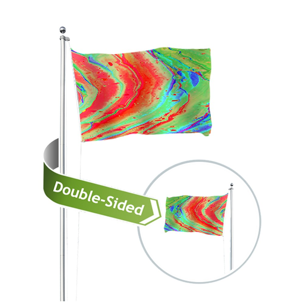 Double-Sided Flags