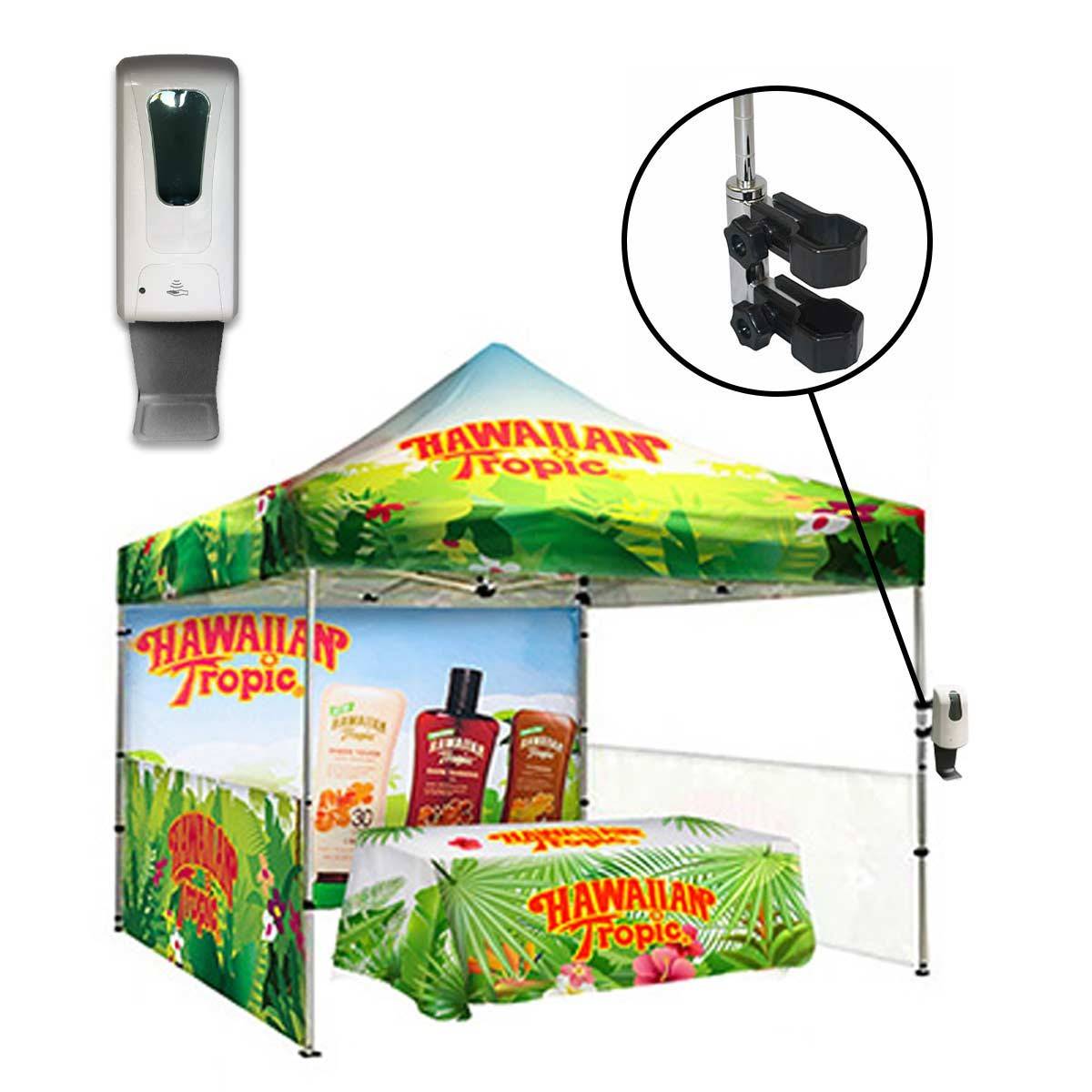 Automatic Sanitizer Dispenser For Canopy Tents