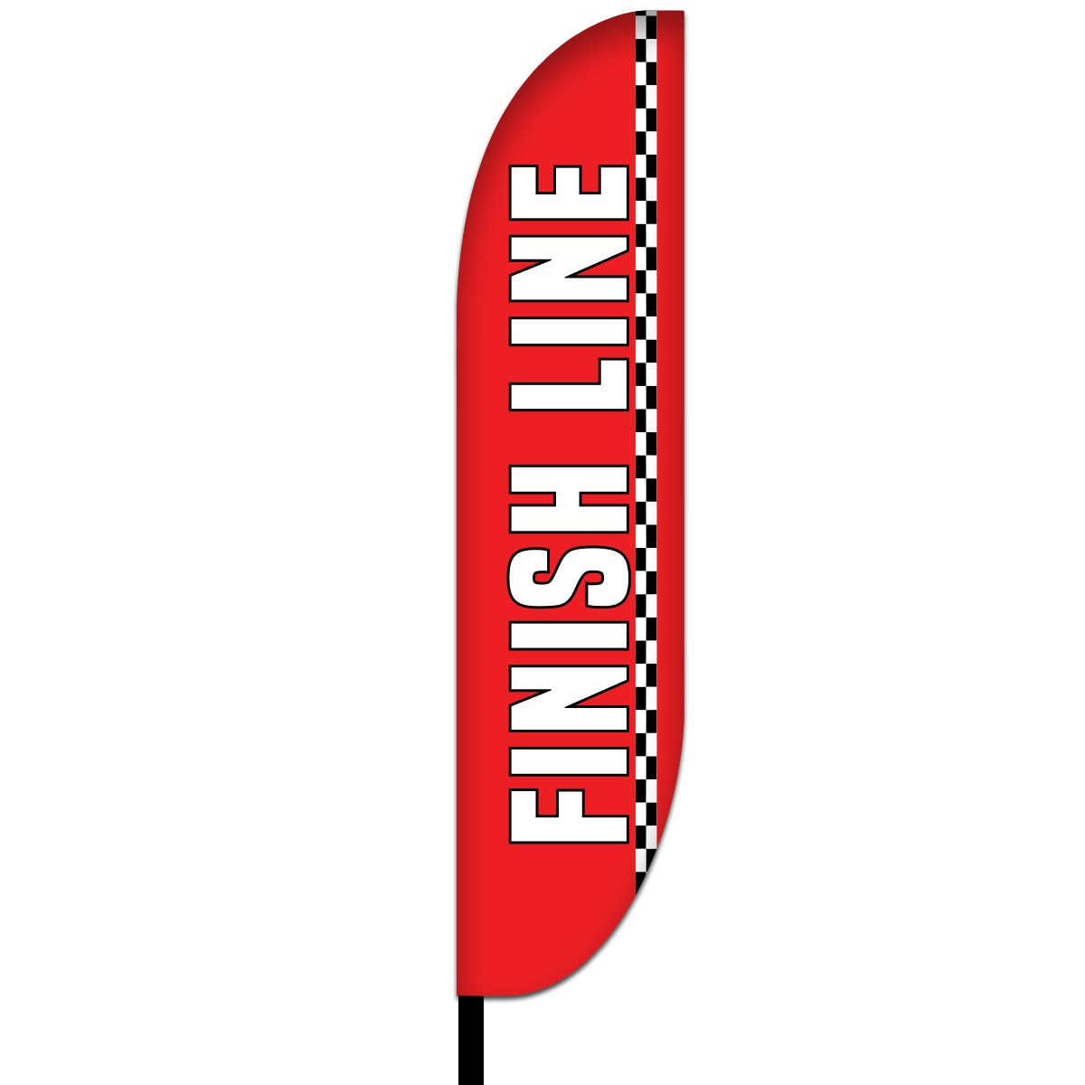 Finish Flags Design 03