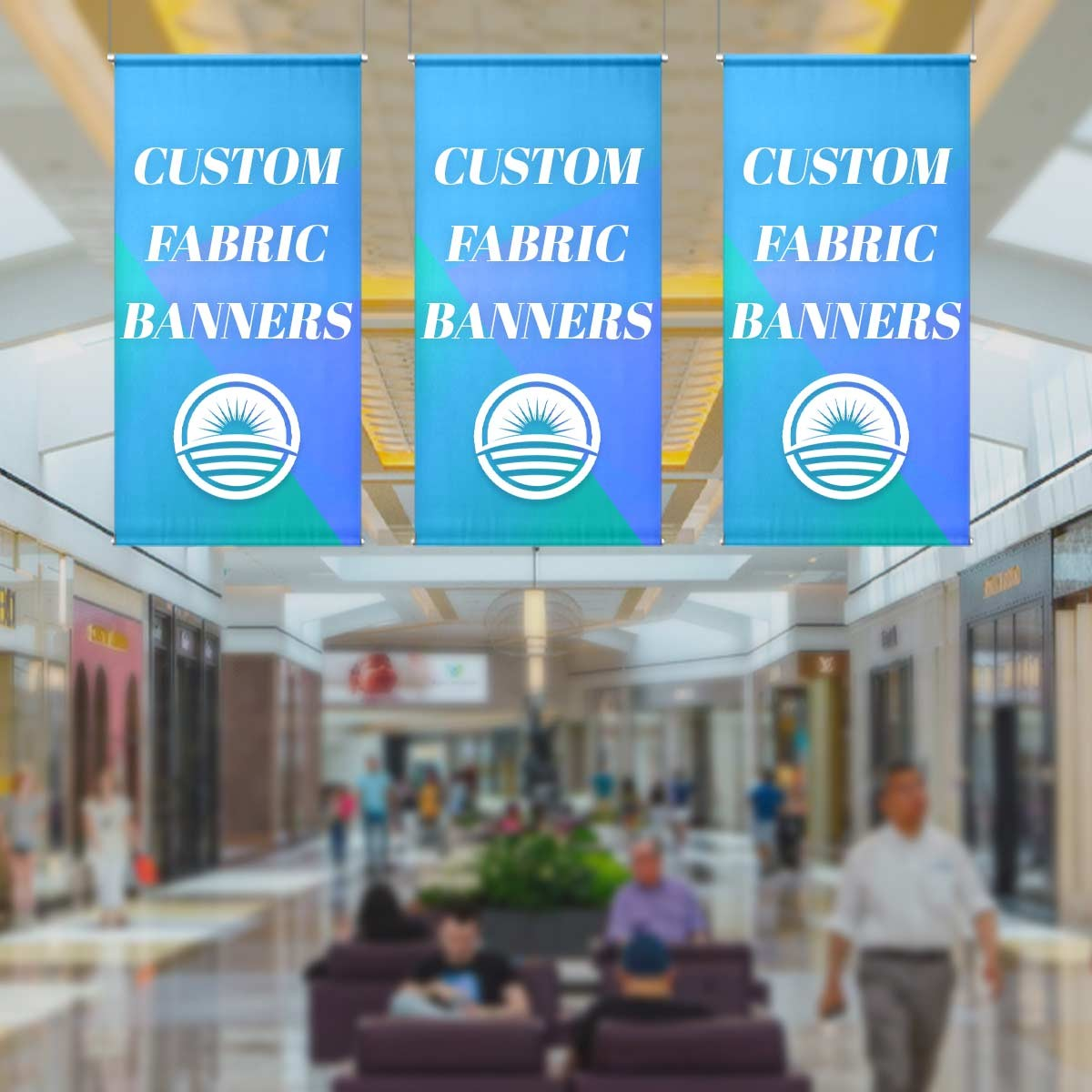 Fabric Banners Vertical