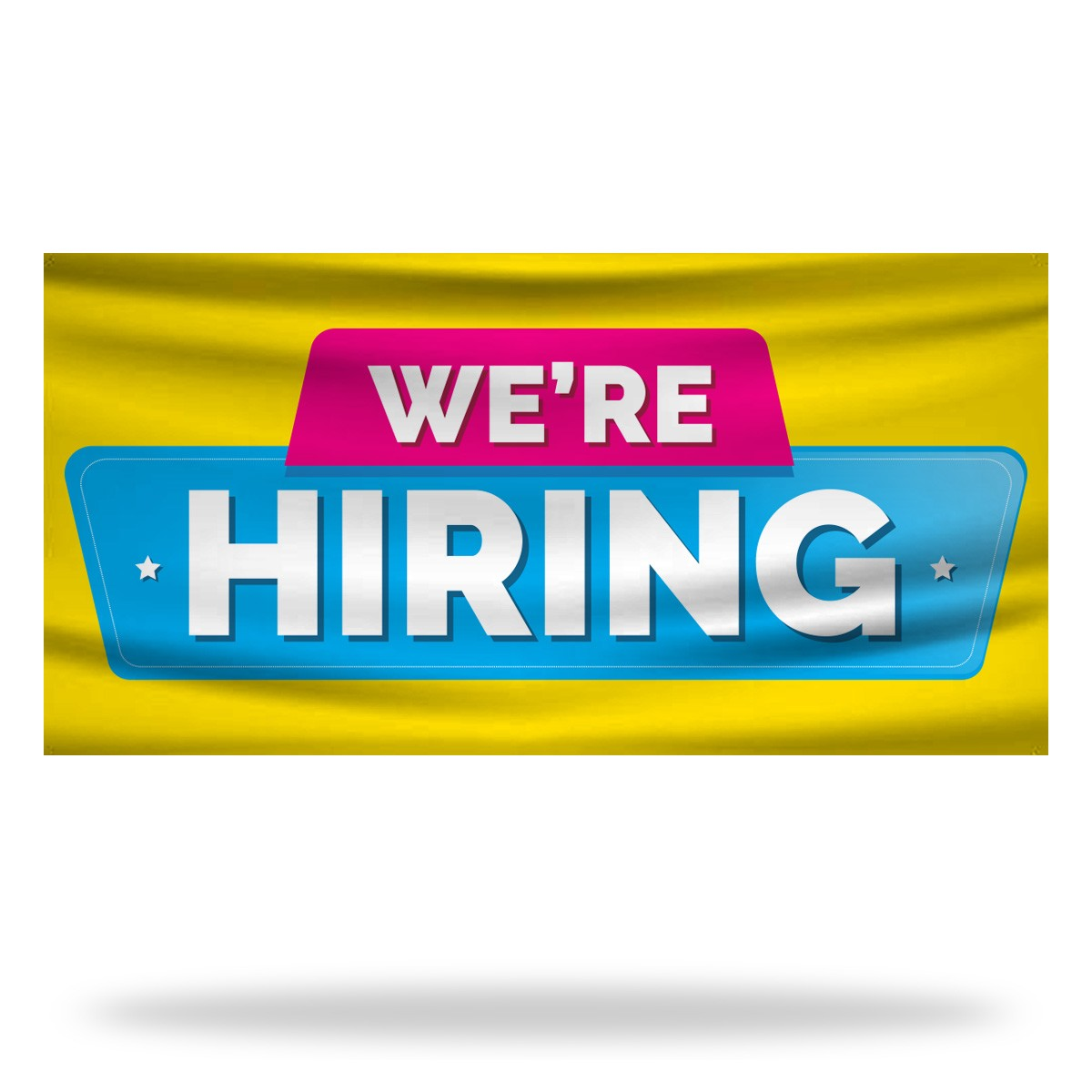 Now Hiring Flags & Banners Design 07