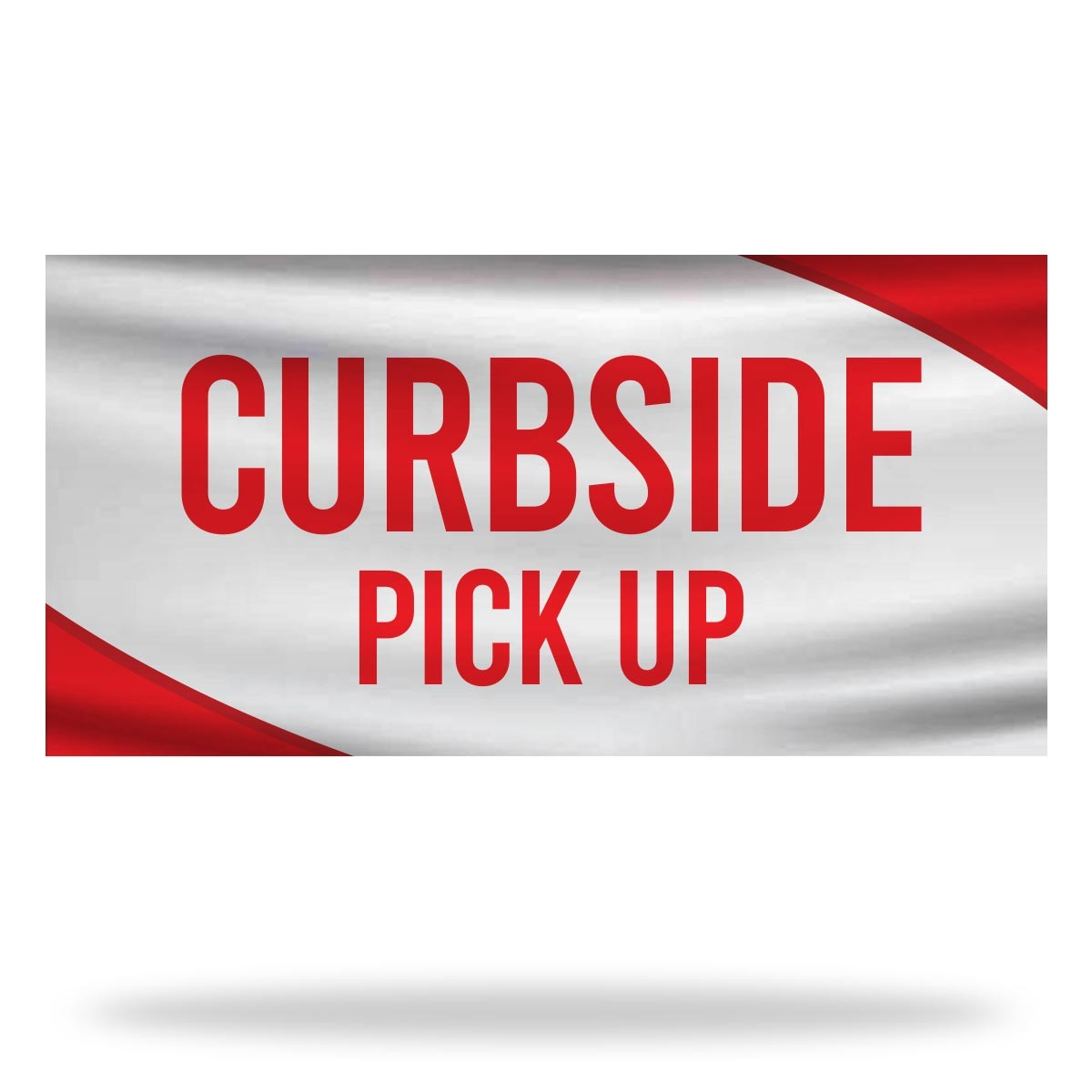 Curbside Pickup Flags & Banners Design 03