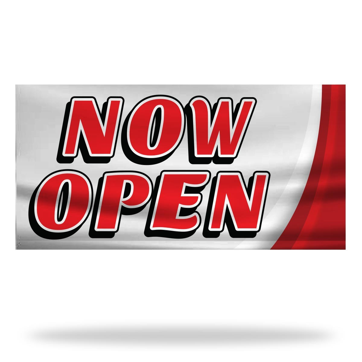 Now Open Flags & Banners Design 09