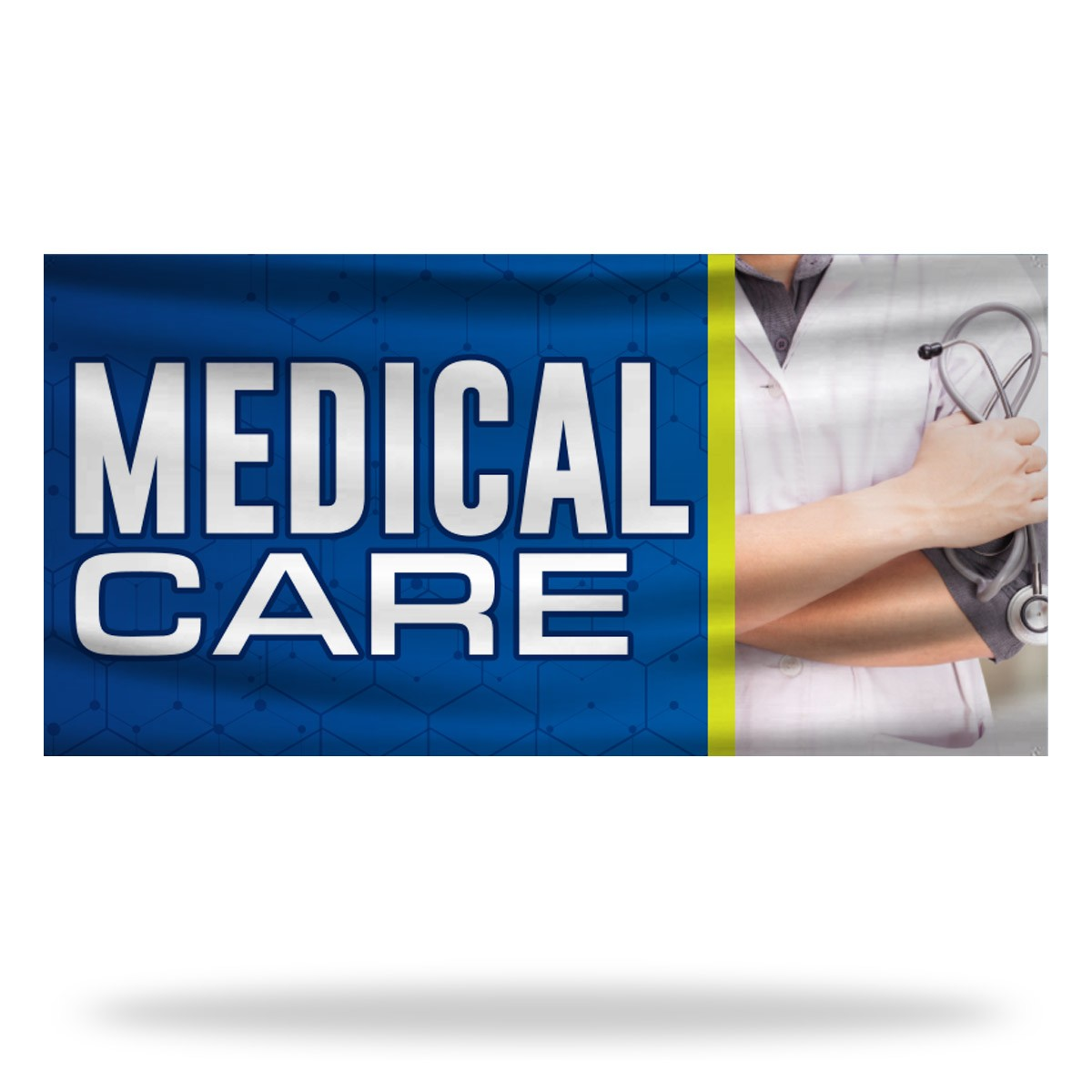 Medical Care Flags & Banners Design 01
