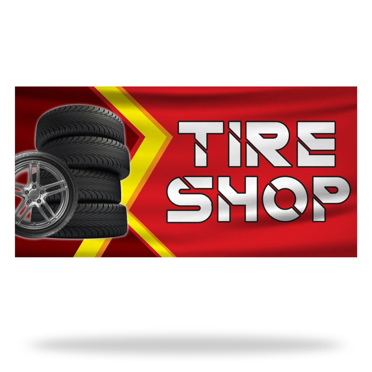 Tire Shop Flags & Banners Design 01