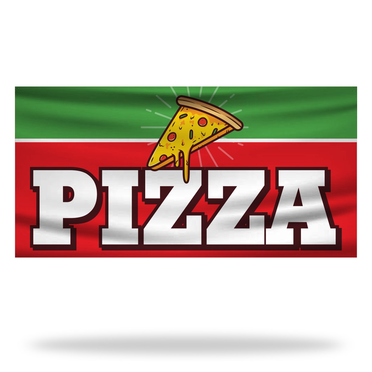 Pizza Flags & Banners Design 02