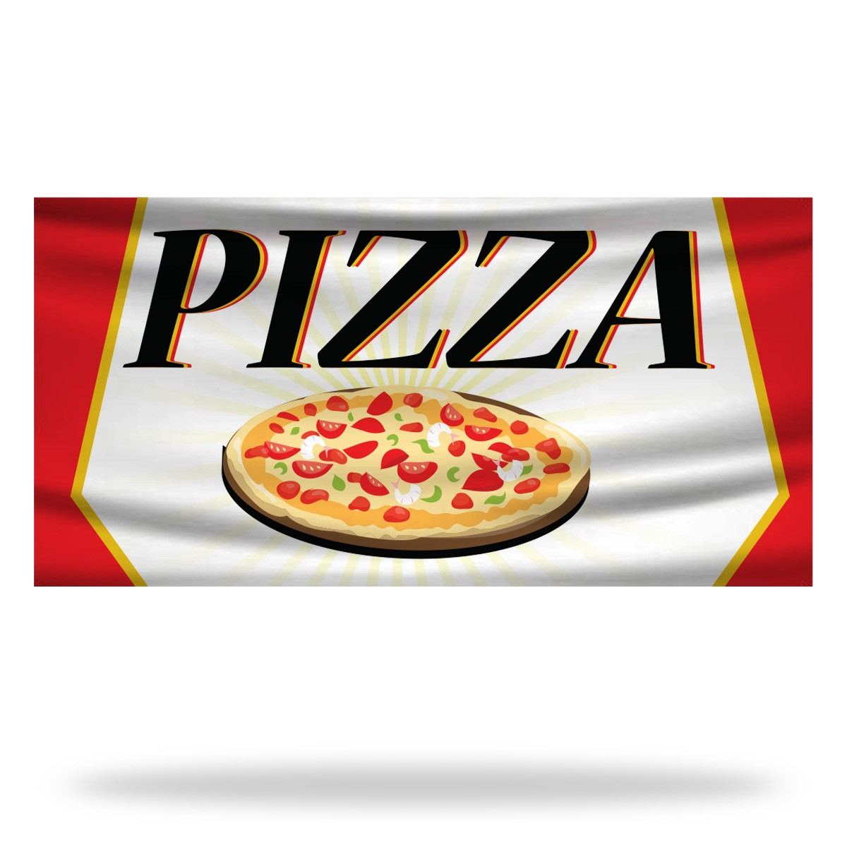 Pizza Flags & Banners Design 03