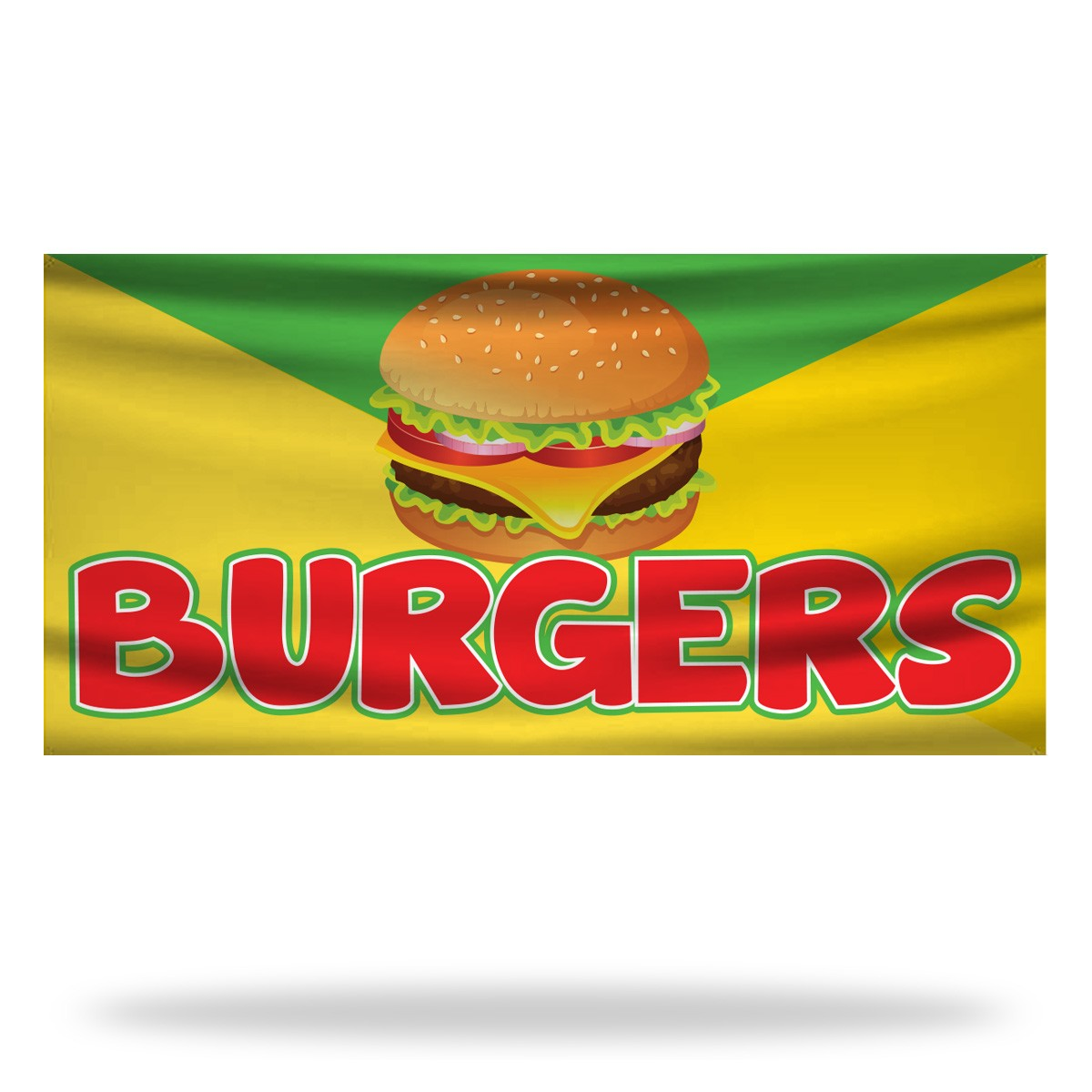 Burger Flags & Banners Design 01