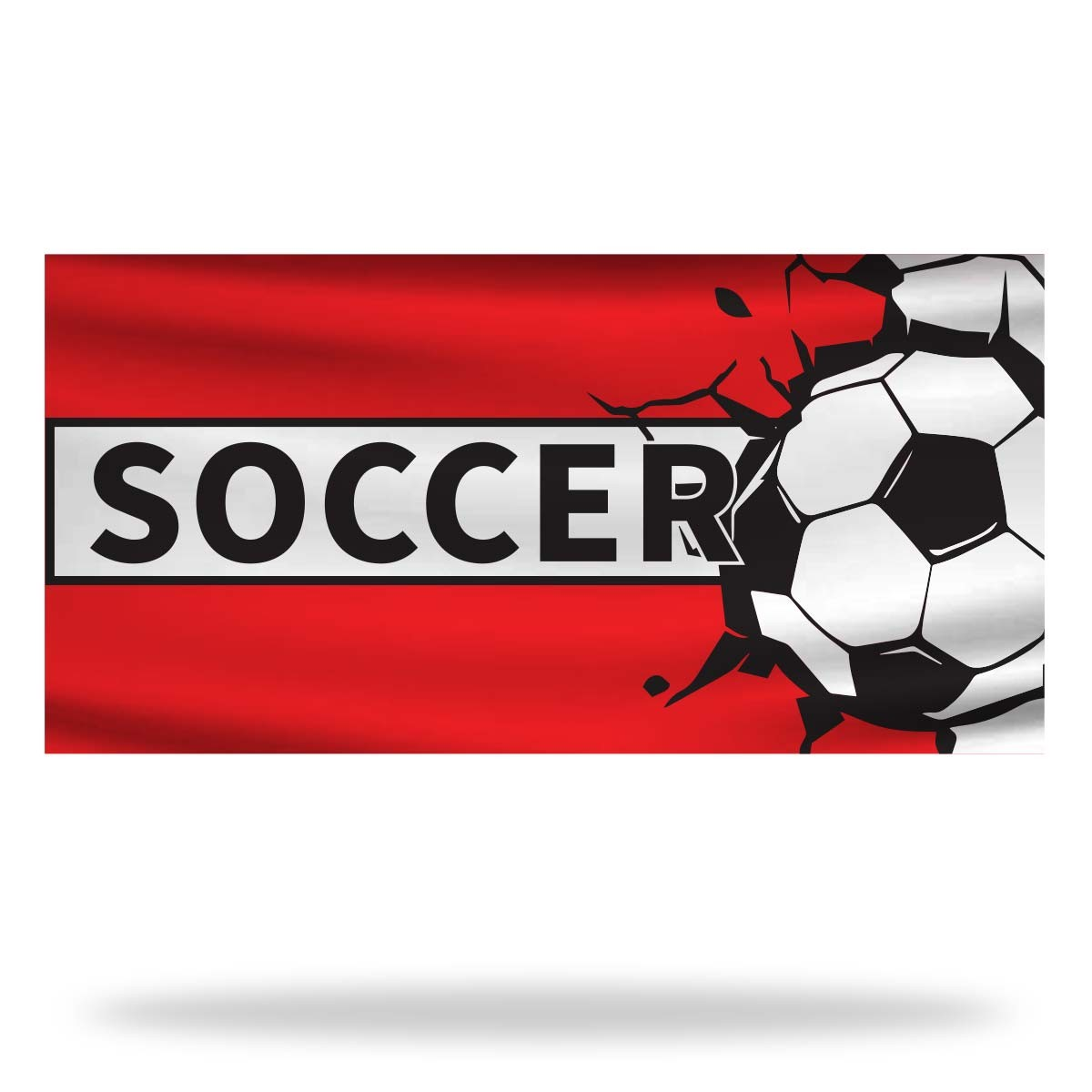 Soccer Flags & Banners Design 03